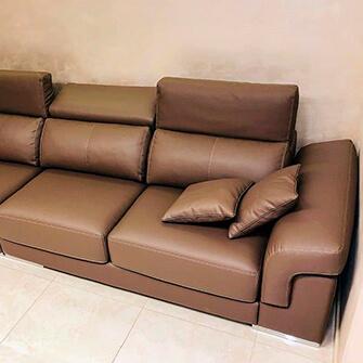диван после перетяжки обивки